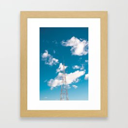 communication Framed Art Print