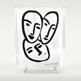 Matisse - 3 Masks Shower Curtain