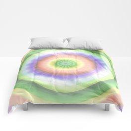 Mandala hippie times Comforters