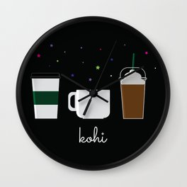 Coffee Is The Life Saver Wall Clock