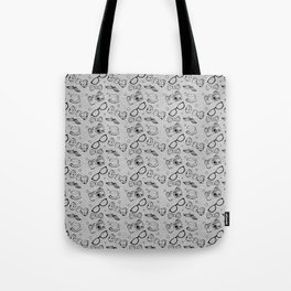 Hipster Elements Pattern Tote Bag