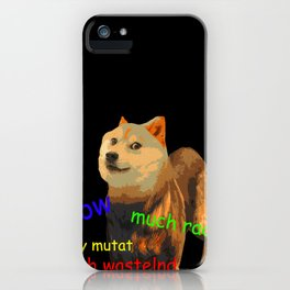 Fallout 4 Doge iPhone Case