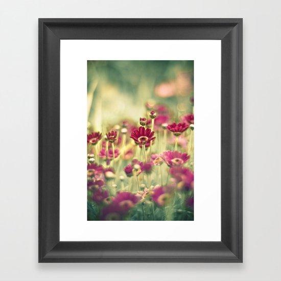 We Grew for You Framed Art Print