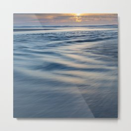 River Meets Sea Metal Print