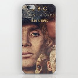 Peaky Blinders, Cillian Murphy, Thomas Shelby, BBC Tv series, Tom Hardy, Annabelle Wallis iPhone Skin