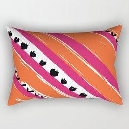 texture lines pattern Rectangular Pillow