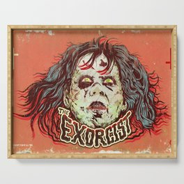 Exorcist Serving Tray