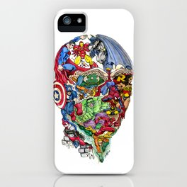 Heroic Mind iPhone Case