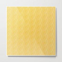Geometric Pattern | Shapes Symbols Geometry Metal Print