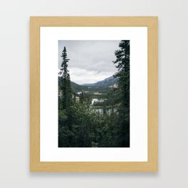 Horseshoe Lake 1 - Denali National Park Framed Art Print