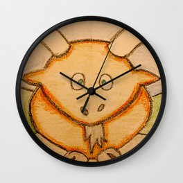 Billy the goat Wall Clock