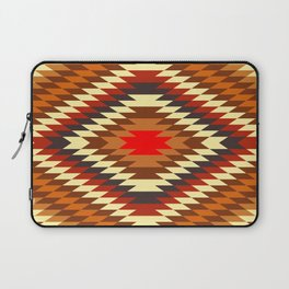 american native traditional ethnic costume motif seamless pattern Laptop Sleeve