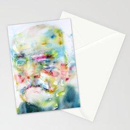 OTTO VON BISMARK - watercolor portrait Stationery Cards