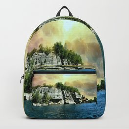 Golden Sky Over the Mountain - Mohonk Backpack