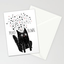 MIND BLOWN. Stationery Cards