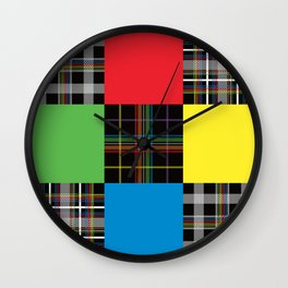 Degueulasserie | Digital Art Wall Clock
