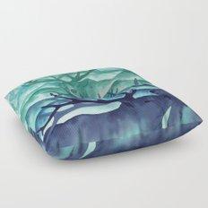Herding Mountains Floor Pillow
