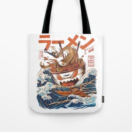 Great Ramen off Kanagawa Tote Bag