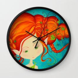 Fairie Wall Clock
