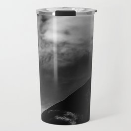 Raven Portrait at the Cliffs of Moher Travel Mug