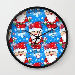 Santa Land Wall Clock