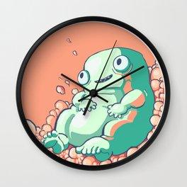 Cotton Candy Fluff Wall Clock