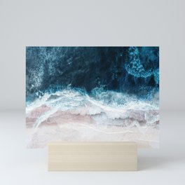 Blue Sea II Mini Art Print