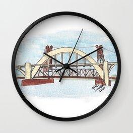 Robert Street Lift Bridge: St. Paul Wall Clock