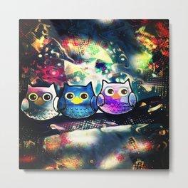 owl-89 Metal Print
