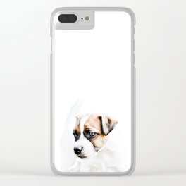Jack Russell Clear iPhone Case