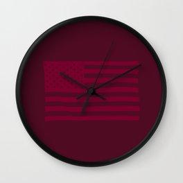 American Flag Buffalo Wall Clock