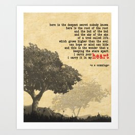Quotes Print Canvas Prints Society6