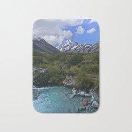 Aoraki Mount Cook // Hooker Valley Bath Mat