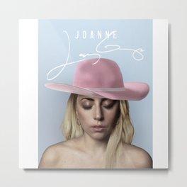 joanne lady.gaga Metal Print