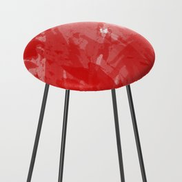RED HOT CHILI PRINT Counter Stool