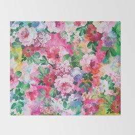 Beautiful Garden Throw Blanket