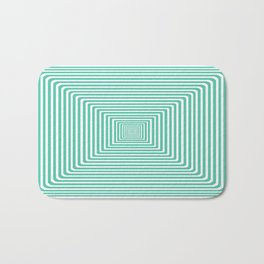 Graphic Design - Biscay Green Bath Mat