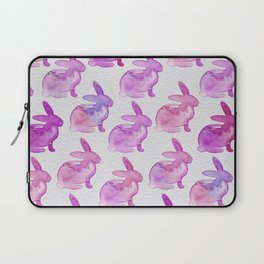 Watercolor Bunnies 1L by Kathy Morton Stanion Laptop Sleeve