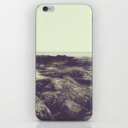 rocky coast iPhone Skin