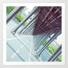 Never-Ending Bridge. Art Print