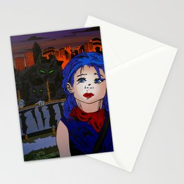 Far away from here Stationery Cards
