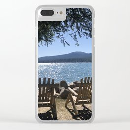 At Peace Clear iPhone Case