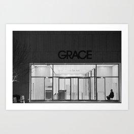 Contemplating Grace Art Print