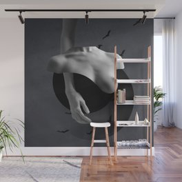 Minimal collage/Nude Wall Mural