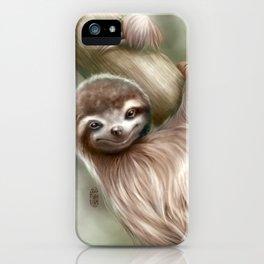 Hanging Around iPhone Case