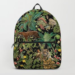 TIGER IN THE DARK JUNGLE Backpack