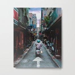 Lin Sen Bei Rd Metal Print