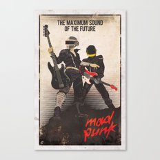 Mad Punk / A tribute to Daft Punk Canvas Print