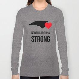 North Carolina strong / Hurricane season Long Sleeve T-shirt