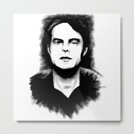 DARK COMEDIANS: Bill Hader Metal Print